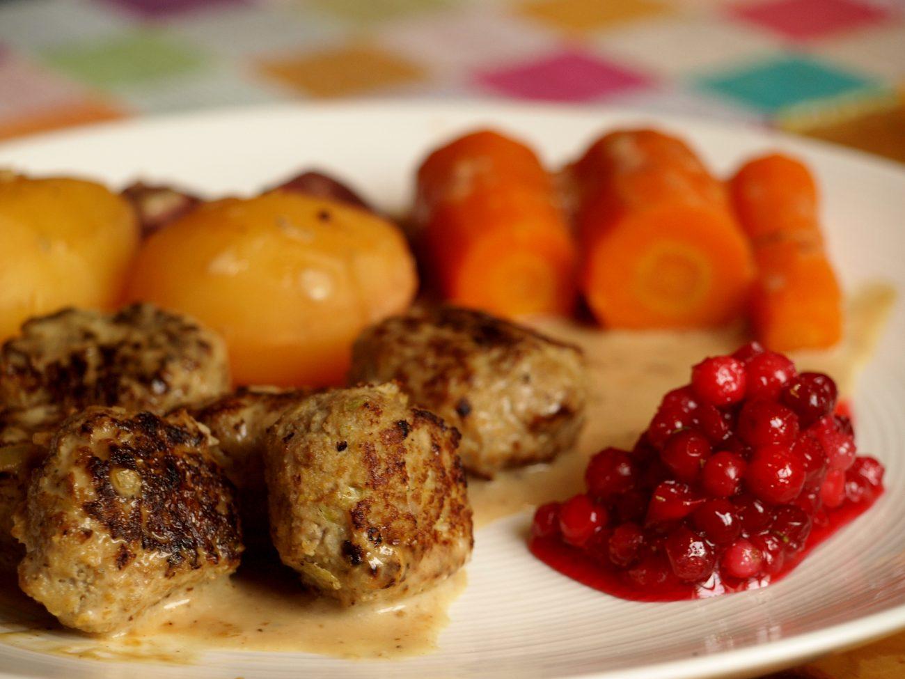 Glutenfria köttbullar med smak av italien
