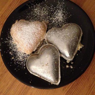 Glutenfria vaniljhjärtan