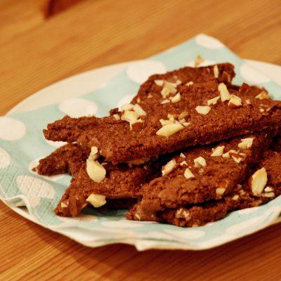 Glutenfria chokladsnittar