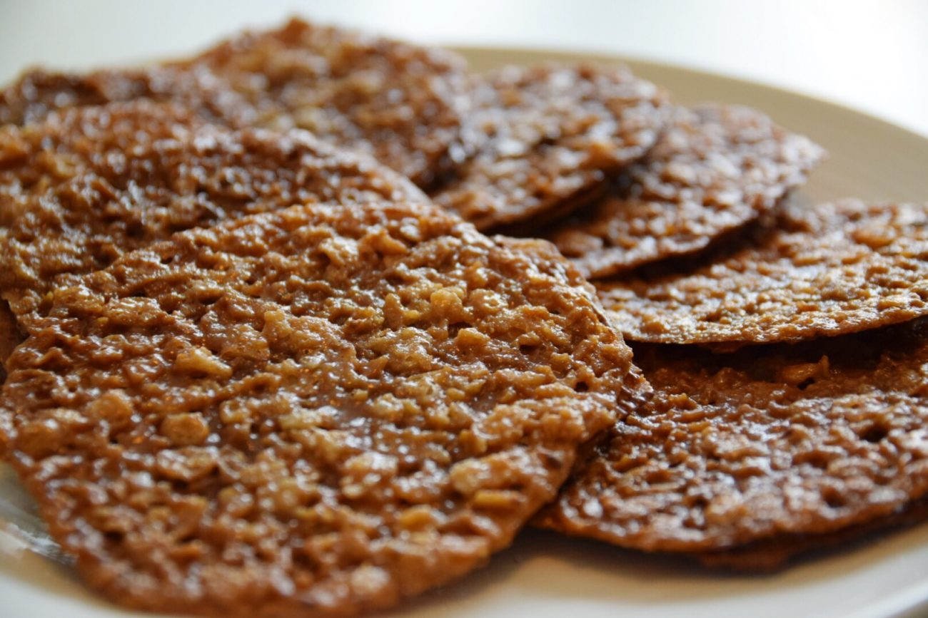 Glutenfria havreflarn med brynt smör och nutella
