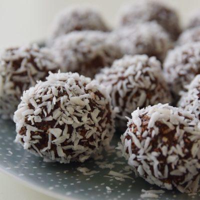 glutenfria nyttiga choklabollar utan dadlar